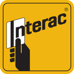 Interac Accepted Here