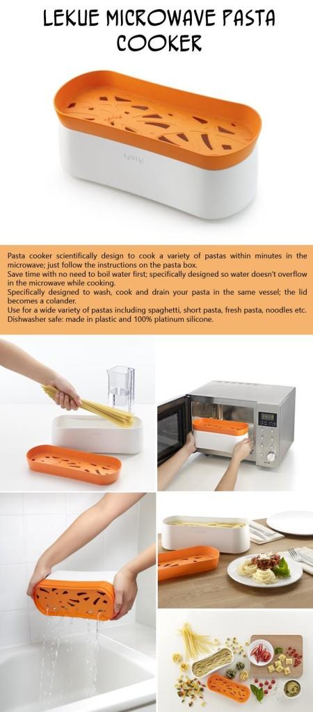 Lekue-Microwave-Pasta-Cooker