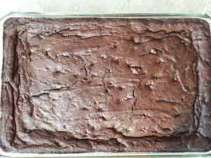 Cocoa Nutella Brownie