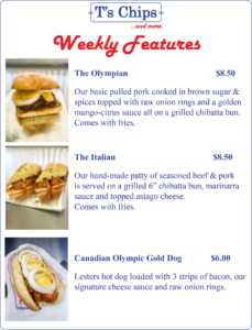 Weekly Features Aug 12 to 18, 2016