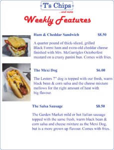 Weekly Features July 15 to 21, 2016