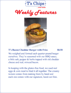 Weekly Features July 29 to Aug 4, 2016