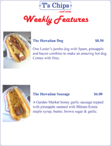 Weekly Features May 27 to Jun 1, 2016