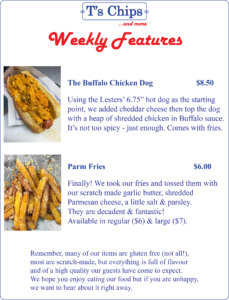 Weekly Features Sept 23 to 29, 2016